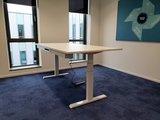 wit frame en wit sta ureau Steelforce 670 | kies voor een gezonde werkplek bezoek Worktrainer.nl