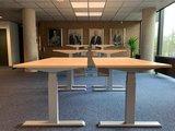 Steelforce 670 zilver frame | kies voor een gezonde werkplek bezoek Worktrainer.nl