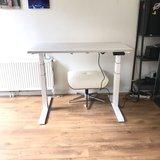 S670 Zit-sta bureau | kies voor een gezonde werkplek bezoek Worktrainer.nl