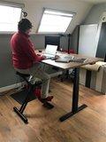 S670 met Deskbike | kies voor een gezonde werkplek bezoek Worktrainer.nl