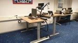 S670 met monitorarmen | kies voor een gezonde werkplek bezoek Worktrainer.nl