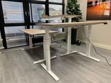 S670 Wit Frame | kies voor een gezonde werkplek bezoek Worktrainer.nl