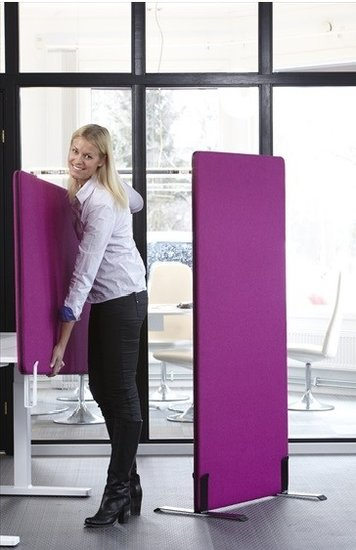 [AF NL & ENG. & duits] Tussenscherm - Akoestisch tafel of vloer scherm