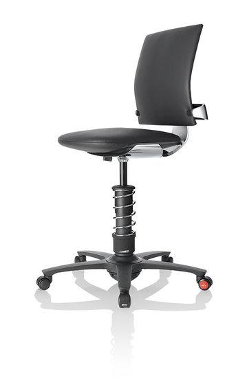 [Af NL & Duits & ENG ] Actieve Bureaustoel - 3Dee Premium Leer