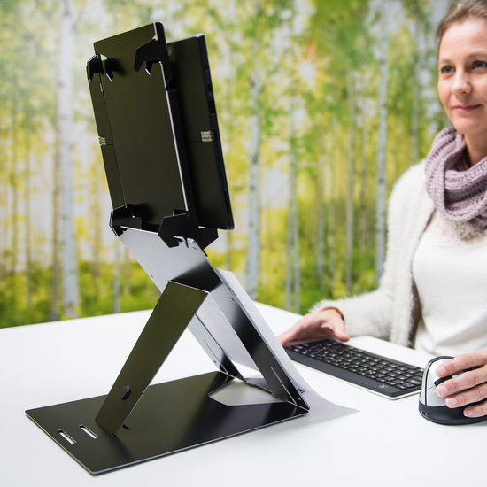 [AF NL & ENG. & DUITS] R-Go Riser Duo - Laptop en Tablet Standaard