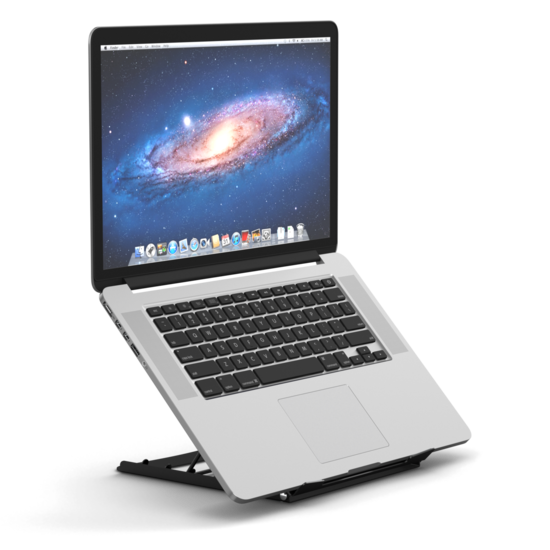 [ Af NL & ENG. & DUITS ] Laptop Verhoger - Opvouwbaar