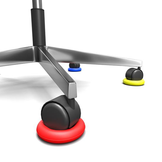 [Af NL & ENG.+ DUITS ] Anti slip ring voor stoelen met wielen
