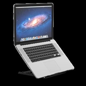 Laptop Verhoger Opvouwbaar   Accessoires voor je werkplek   Worktrainer.nl